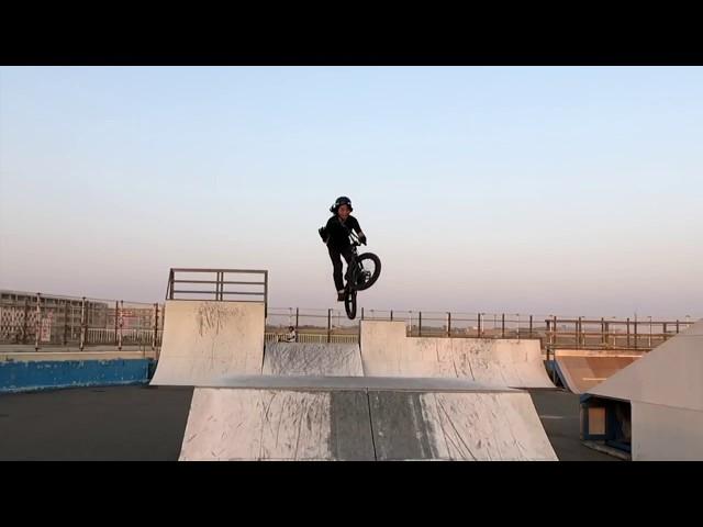 溝垣丈司のバースピンをスローモーションで撮ってみました!Slow Motion Barspin - JOJI MIZOGAKI BMX
