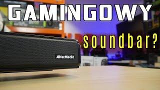 AVerMedia Sonicblast GS333 gamingowy sound bar BEZ RGB - test i recenzja
