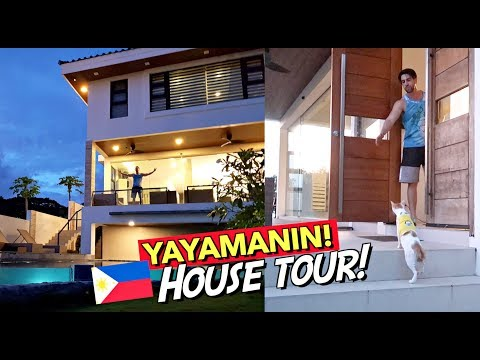 MULTI-MILLION PESOS VILLA House Tour in the PHILIPPINES! 🇵🇭