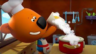 Мультик 🐻 Ми-Ми-Мишки  - Ура! Обед! 🍕  Приятного Аппетита! 🍔  Сборник мультфильмов про еду