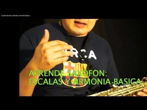 Tutorial de Saxofon Para Principiantes #5 Notas y Como Tocar Escalas