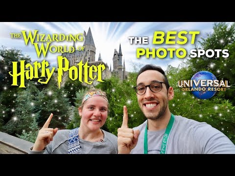 The BEST Photo Spots at Wizarding World of Harry Potter | Universal Studios Orlando