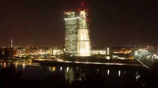 Cơ sở ECB mới: video tua nhanh quá trình xây dựng