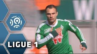 But Yohan MOLLO (74') / AS Saint-Etienne - FC Lorient (2-0) -  (ASSE - FCL) / 2014-15