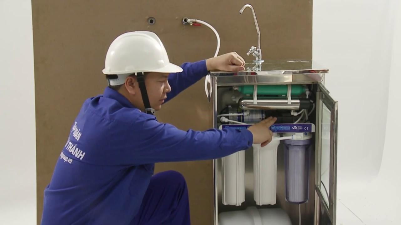 Hướng dẫn lắp đặt và sử dụng Máy lọc nước R.O