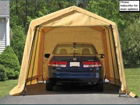 Garage Design Pics Collection | Portable Garage Tent & Garage Design Pics Collection | Portable Garage Tent - YouTube