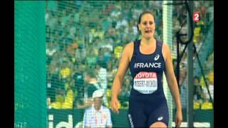 Finale Lancer du disque Mélina Robert-Michon Moscou 2013