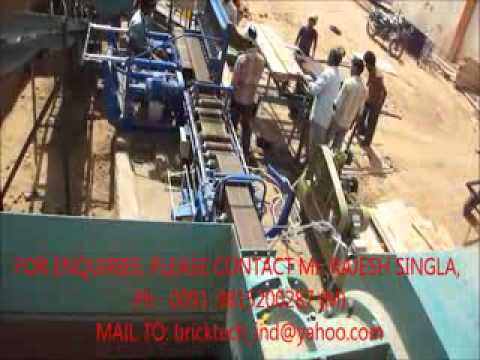CLAY BRICK MACHINE HOLLOW BRICK PRODUCTION...