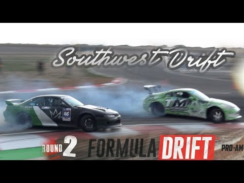 Southwest Drift ProAm Comp in the wet! - 350z diff drifts!