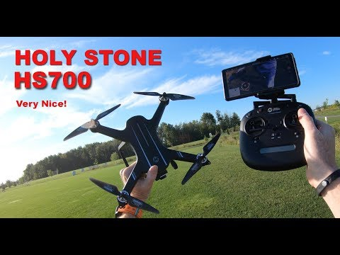 Holy Stone HS700 Drone -  Very Nice GPS Drone!