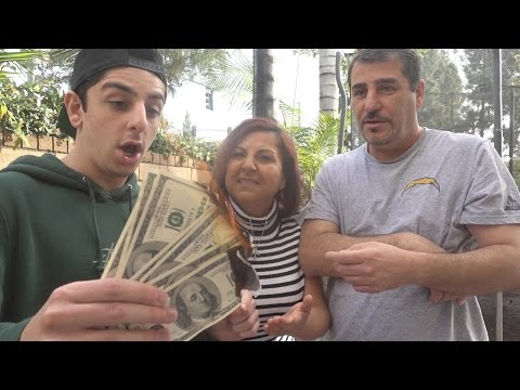 BURNING $1,000 MAGIC TRICK PRANK!!