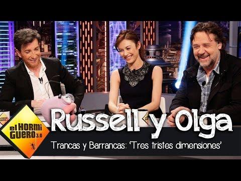 Trancas y Barrancas con Russell Crowe y Olga Kurylenko en El Hormiguero 3.0