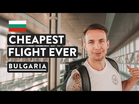$16 FLIGHT TO GREECE | Sofia to Athens | Bulgaria Travel Vlog 2018