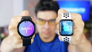 SAMSUNG vs APPLE LA BATALLA FINAL!!!!!!! Active Watch 2