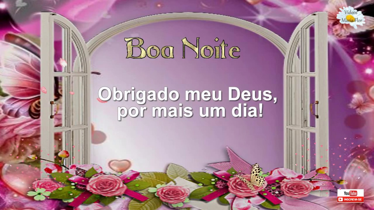 Boa Noite Deus Abencoe: Linda Mensagem De Agradecimento
