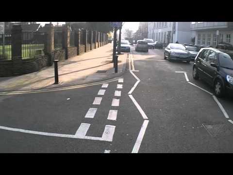 CS3 Cycle Commute fun - X521 FUY dangerous driving