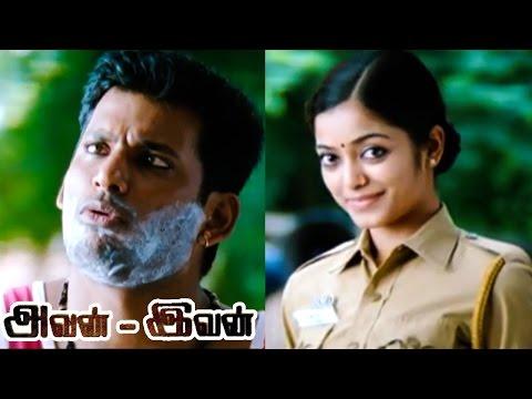 Avan Ivan | Avan Ivan Full Tamil Movie Scenes |Janani Iyer requests Vishal to return the Jewelleries