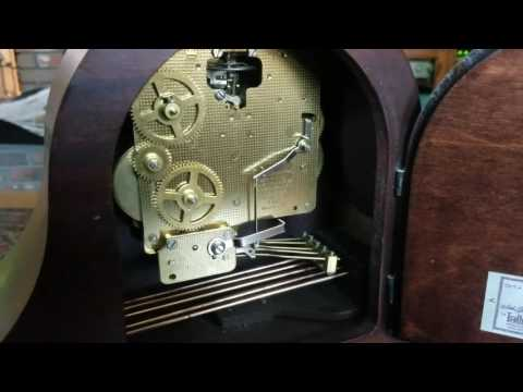 Seth Thomas mantle clock chiming mechanism