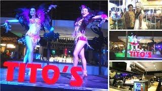 Dancing In Tito's Club , Goa  Tito's Baga Beach  Tito's Calangute   Vlog
