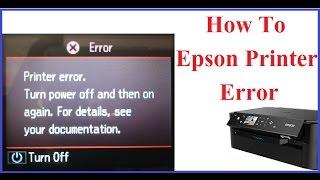 How To Epson Printer Error (Hindi)