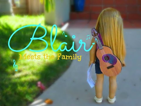 Blair Meets The Family~ AGSM Movie American Girl Doll Stopmotion | White Fox Stopmotion
