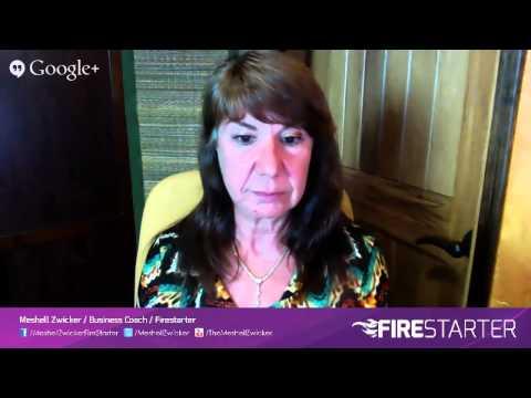 Stop Procrastinating & Get Inspired Momentum! Interview with Meshell Zwicker, FIRESTARTER!