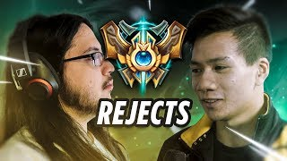 Shiphtur | THE CHALLENGER REJECTS...Ft. Imaqtpie, Heisendong, Dhokla, Cpt. Calamari.