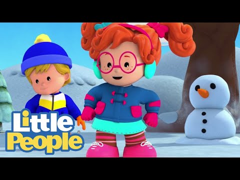 Fisher Price Little People | Christmas ⛄ Working Together Is Way Better🎄1h Compilation | Kids Movies