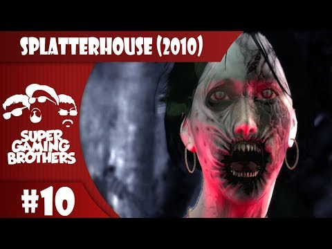 SGB Play: Splatterhouse (2010) - Part 10   Mirror Mirror On the Wall, I Don't Like You