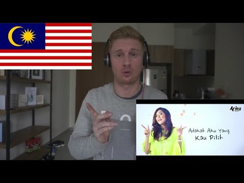 Fara Hezel Ft. Aiman Tino - Terasa Cinta (Official Lyric Video) // MALAYSIAN MUSIC REACTION