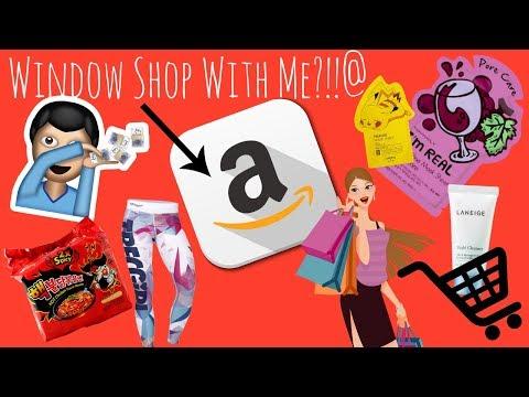 NEW SERIES | WINDOW SHOP WITH ME!!!! | AMAZON