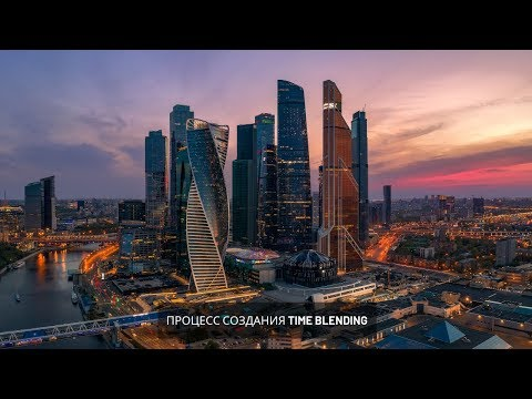 MOSCOW The City Timelapse With Workflow
