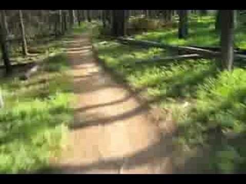 Mountain Biking Loon Lake Trail near McCall Idaho
