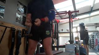 Pin lockout 130kg 18 February 2018