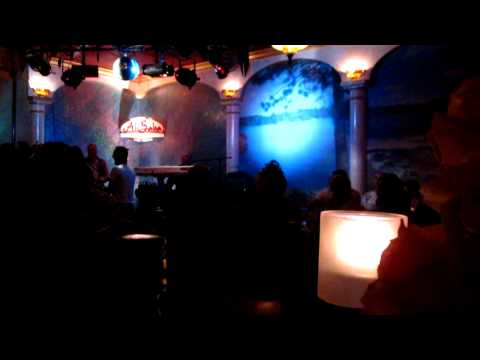 Mustafa Kirk At Ali Baba Restaurant in Las Vegas