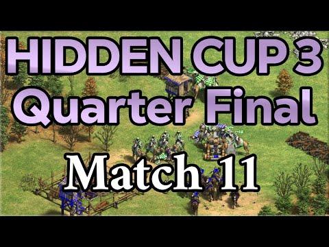 Hidden Cup 3 | Quarterfinal #3 [Match 11]