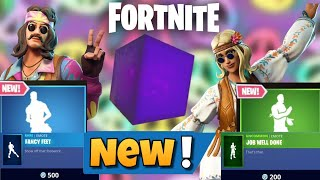 Fortnite BR: New Fancy Feet Emote and Job Well done Emote + New Skins in the Item Shop!!!