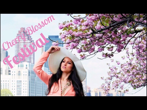 VLOG REVIEW: Cherry Blossom Festival in NYC - Sakura Matsuri 2017 - Brooklyn Botanic Garden