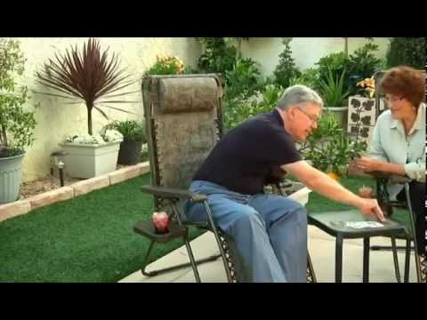 Outdoor Zero Gravity Lounge Chairs By Bliss   ZeroGravityComfort.com    YouTube