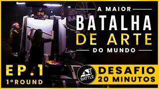 Art Battle - Desafio 20 minutos | Ep. 1 (Parte 1)