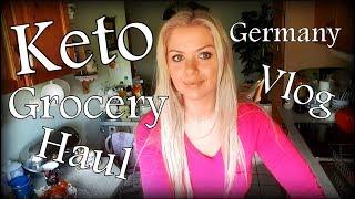 KETO GROCERY HAUL/ GERMANY VLOG 1