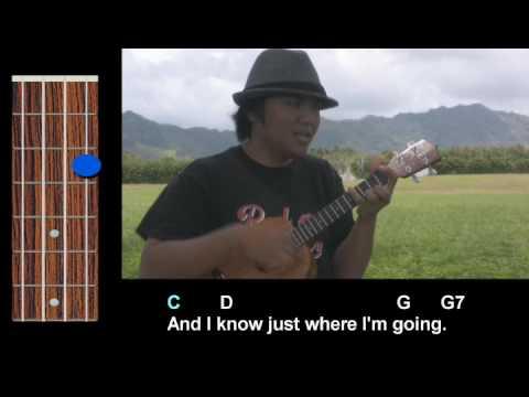 Stuck On You Ukulele Play Along Youtube