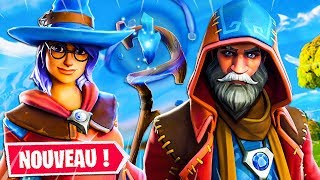 "NEW SKINS MAGICIENS ""'ELMIRA"" AND ""MANCIEN"" on Fortnite: Battle Royale"