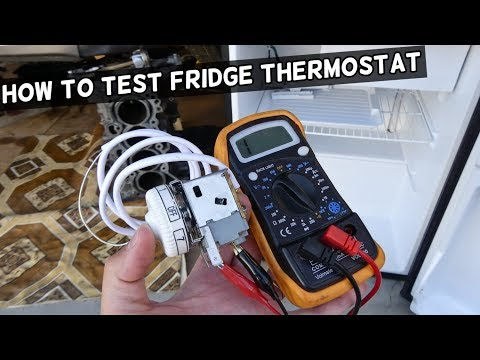 HOW TO TEST FRIDGE THERMOSTAT