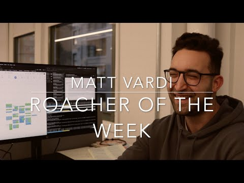 Roacher of the Week: Matt Vardi, Technical Support Engineer at Cockroach Labs