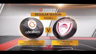 Highlights: Galatasaray Odeabank Istanbul-Olympiacos Piraeus