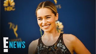 "Emilia Clarke Shows Off Her New ""GoT""-Inspired Tattoo 