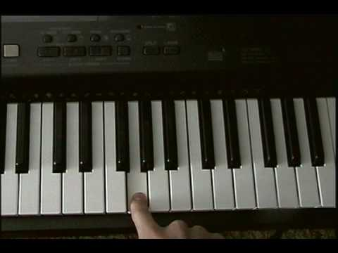 How to play Jurrasic Park on the piano [SIMPLE]