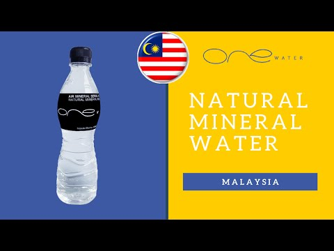 Natural Mineral Water [Spring] - Source Malaysia   Video By One Water