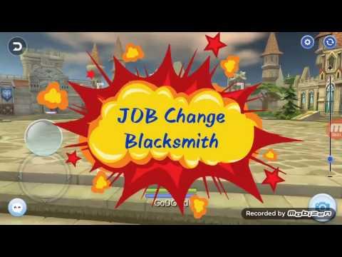 blacksmith job change ragnarok gravindo